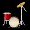 Drum Set (Real Drum) Icon