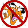 Mad Dog Go Away Icon