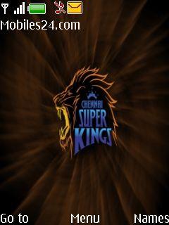 Chennai Super Kings Free Nokia 6275i Theme download