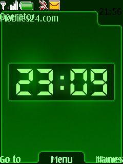 nokia 6233 clock