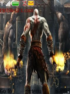 God Of War Free Nokia Series 40 3rd Edition Themes (240x320