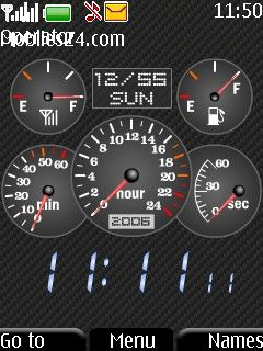 Speedometer Free Nokia 5310 XpressMusic Theme download