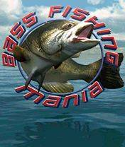 Bass Fishing Mania 3D (240x320)