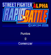 Street Fighter Alpha Rapid Battle (176x220)