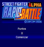 Street Fighter Alpha Rapid Battle (176x220)