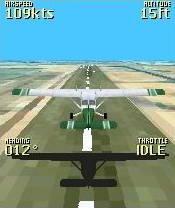 FreeFlight 3D Flight Simulator (240x320) Free Nokia 6303 ...