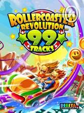 Rollercoaster Revolution 99 Tracks (240x320) SE W910