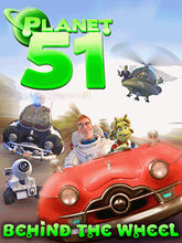 Planet 51 Behind The Wheel (240x298)(240x400) LG KU990 Touchscreen