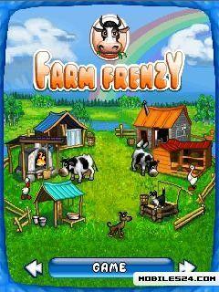 Farm Frenzy (240x320) SE K800 Free Nokia 6233 Java Game