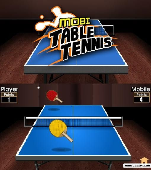 Mobi Table Tennis (640x360) S60v5 Free Nokia C5 Java Game download