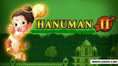 Hanuman 2 (640x360) Nokia 5233 Free Mobile Game download