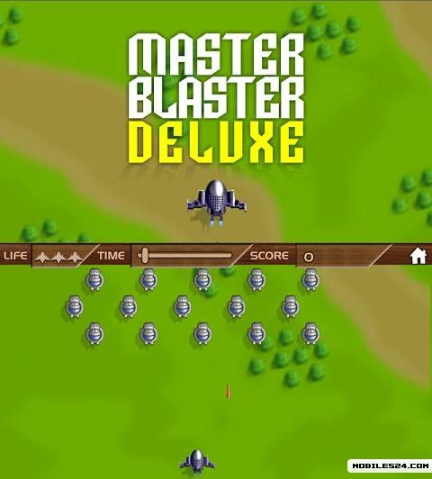 Master Blaster Deluxe (640x360) Free Mobile Game download ...
