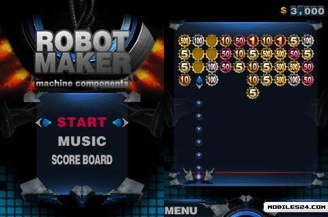 Robot Maker (360x640) S60v5 Free Nokia E72 Java Game download