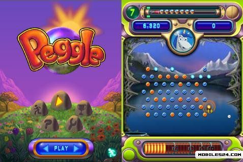 Peggle (240x320) Free Nokia X6 Java Game download ...