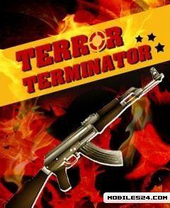 Terror Terminator (128x160) Free Mobile Game download