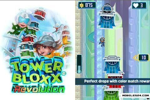Tower Bloxx - Revolution (480x360) Blackberry Bold 9700 Free