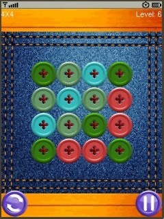 Cut The Buttons (320x240) Free Nokia C3 Java Game download