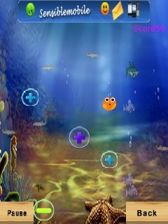 Bubble fish 400x240 free mobile game download download for Bubble fish game
