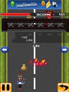 Dirt Bike Stunt (240x400) Free Nokia C6-01 Java Game download