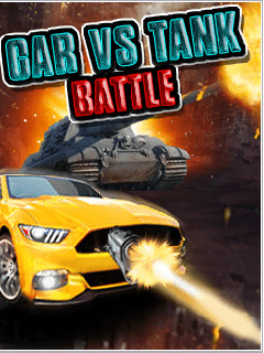 Car Vs Tank Battle (240x320) Free Nokia E71 Java Game