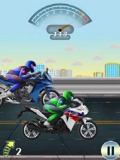 Ultimate Bike Racing (240x400) Free Nokia E6 Java Game