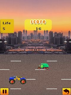 Raees Car Challenge (240x400) Free Mobile Game download