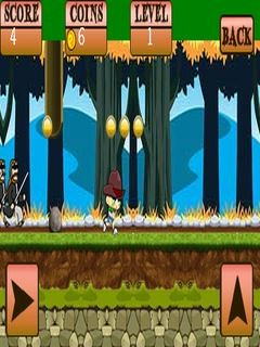 Kaabil Forest Run (400x240) Free Nokia 6120 Classic Java Game