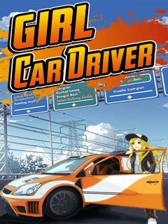 Girl Car Driver (240x400) Free Mobile Game download