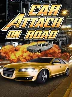 Car Attack On Road (240x400) Free T-Mobile Tap Java Game download