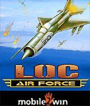 air force loc template - loc air force 240x320 free mobile game download
