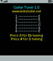 Guitar Tuner V1.1