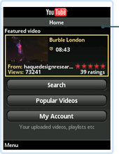 YouTube Player 1.0.1