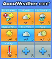 AccuWeather 1.0.5 (240x320)