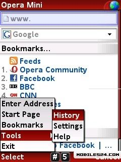 download opera mini for nokia 5800