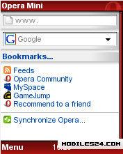 opera mini download apk java