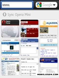 Java Opera Mini New App
