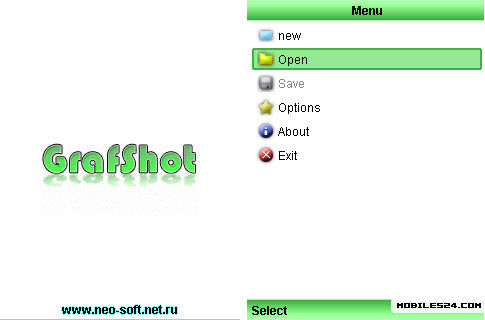GrafShot 0 3 3 Free HTC Touch Java App download - Download Free