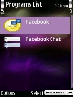 Face Book App For Nokia X2