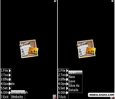 Mobile Photoshop 1 0 RC4 (S60v3) Free Nokia N73 Java App