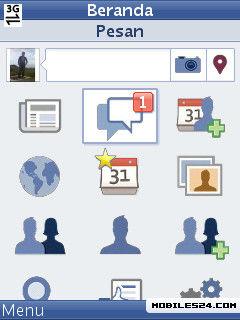 Facebook 2 8 1 (Official) Free Nokia C3 Java App download - Download