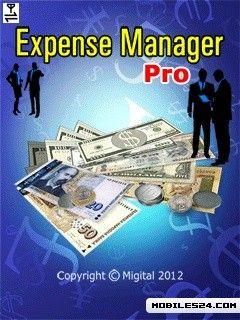 Expense Manager Pro (240x320) Free Nokia C3 Java App