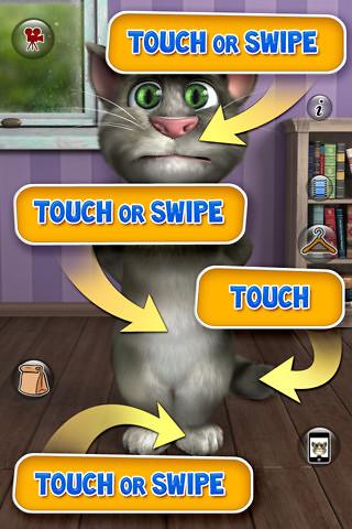 Talking Tom Cat 240x320 Jar Touch Screen