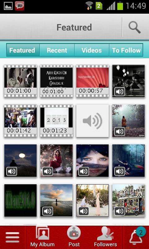 RockeTalk - FB Voice Updates (176x220) Free Samsung T349 Java App