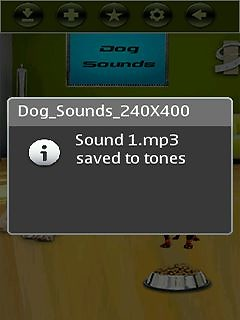 Talking Dog Sounds 360x640 Free Mobile Software download - Download