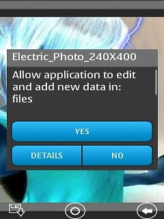 Electric Shock Photo 240x320 Free HTC Touch Java App