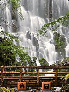 Waterfall Wallpapers : 240x320Keypad Free Samsung SGH-E350 Java App