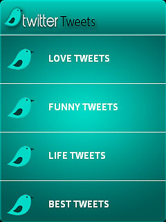 Twitter Tweets 320x240 Free Nokia 3510i Java App download - Download