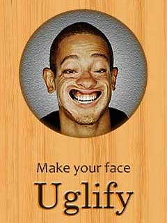 Funny Face Uglify 240x320Touch Free Nokia 5800 XpressMusic