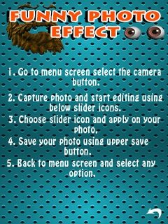 Funny Photo Effect Free Nokia 6303 Classic Java App download