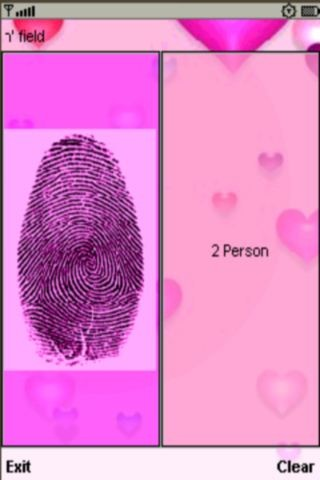 Fingerprint Love Test Pro Free Nokia 6120 Classic Java App